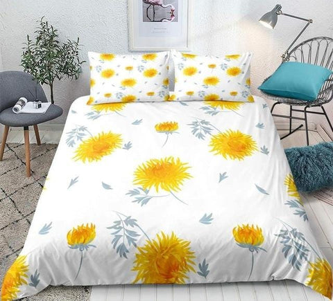 Image of Boho Sunflower Bedding Set - Beddingify