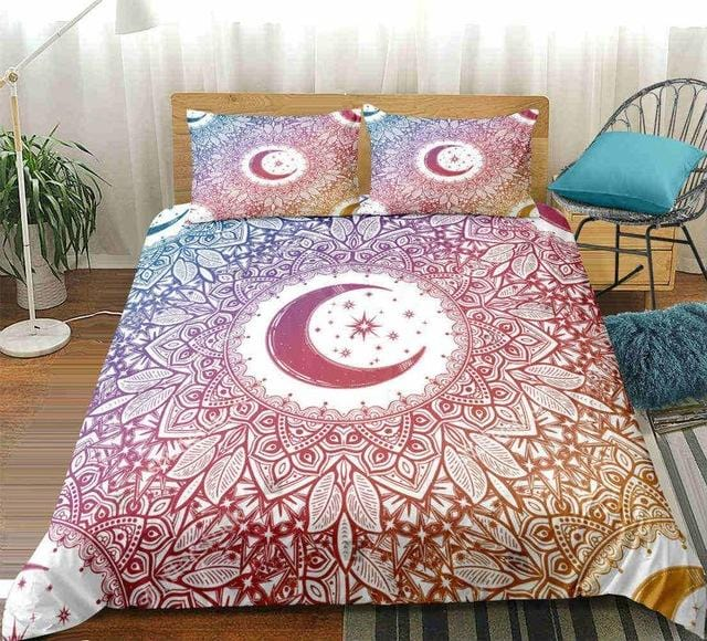 The Moon and The Star Mandala Bedding Set - Beddingify