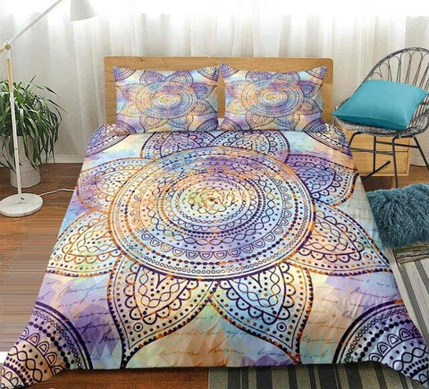 Image of Mandala Flower Bedding Set - Beddingify