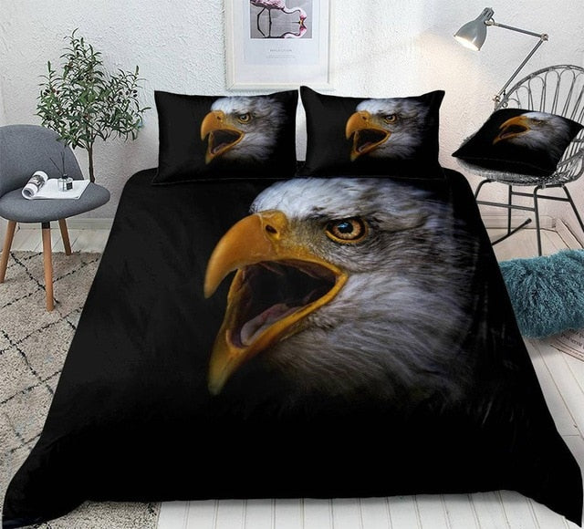 American Bald Eagle Bedding Set - Beddingify