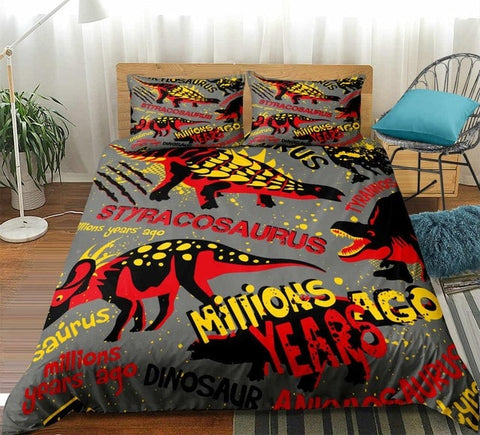 Image of Millions Years Ago Dinosaur Bedding Sets - Beddingify