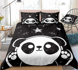 Cute Panda Bedding Set - Beddingify