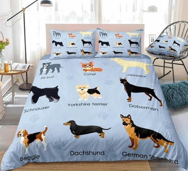 Different Puppy Bedding Set - Beddingify