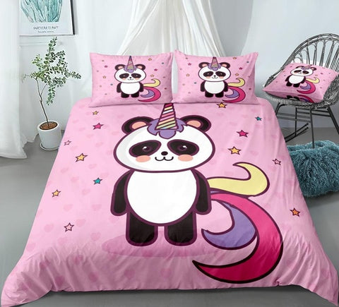 Image of Cute Panda Bedding Set - Beddingify