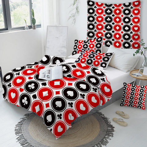 Image of Poker Series Bedding Set - Beddingify