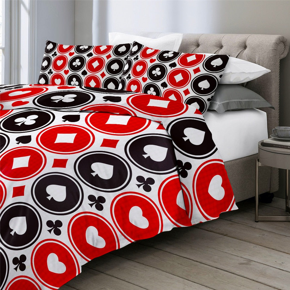 Poker Series Bedding Set - Beddingify