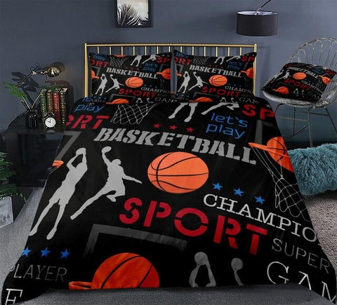 Image of Team Sports Themed Bedding Set - Beddingify
