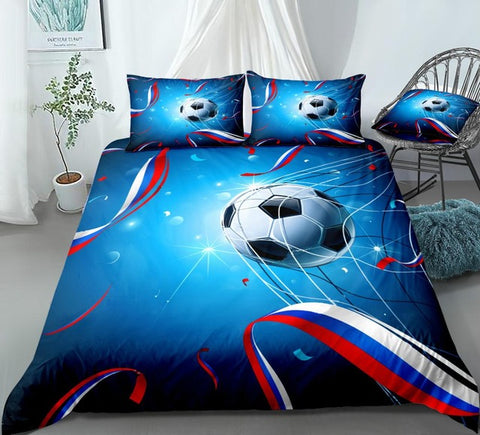 Image of lag of Russia and Confetti Bedding Set - Beddingify