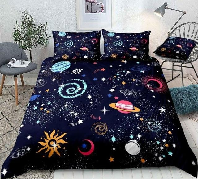 Stars Space Bedding Set - Beddingify