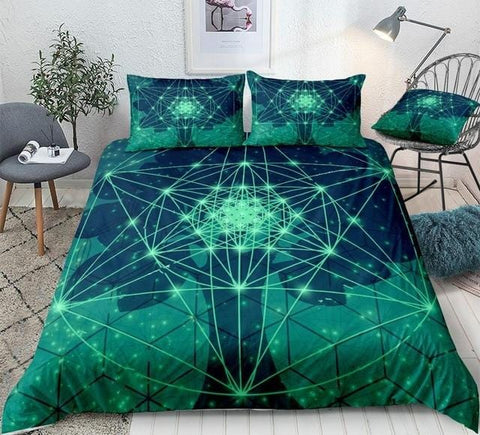 Triangles Circules and Squares Bedding Set