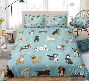 Cute Puppy Bedding Set - Beddingify