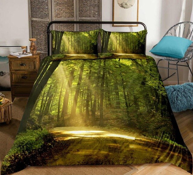 Forest Dreamland 3D Bedding Set - Beddingify