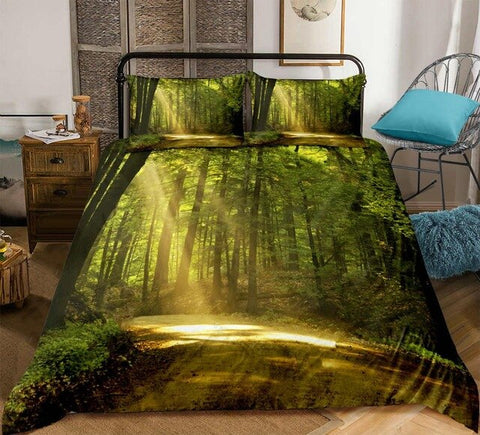 Image of Forest Dreamland 3D Bedding Set - Beddingify