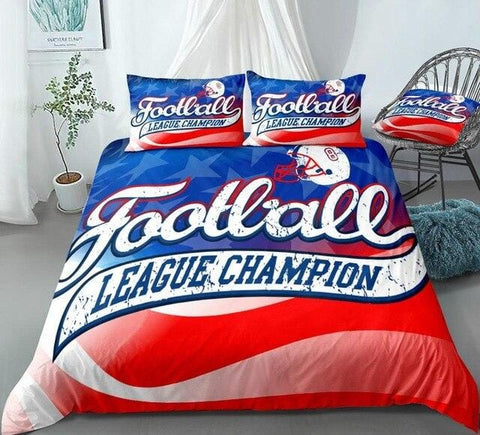 Image of American Football Champion League Bedding Set - Beddingify