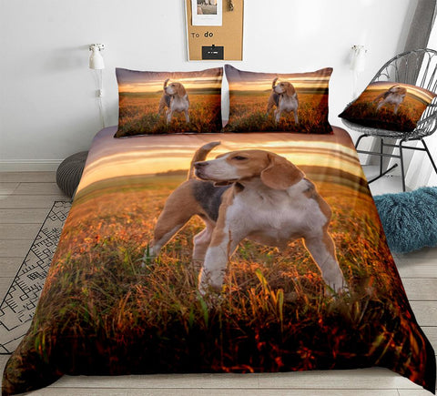 Image of Beagle Dog Bedding Set - Beddingify