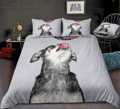 Image of Funny Chihuahua Bedding Set - Beddingify