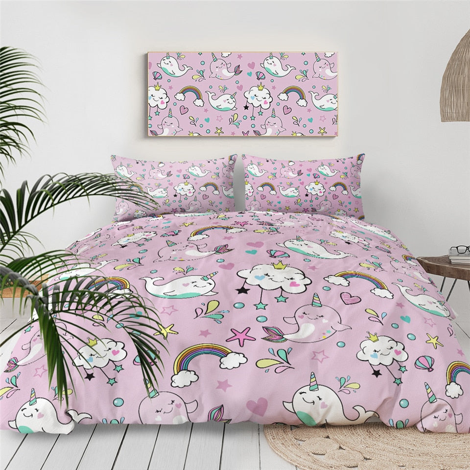 Rainbow Underwater World Bedding Set - Beddingify
