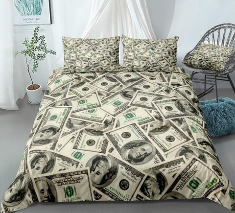 Image of Money Bedding Set - Beddingify