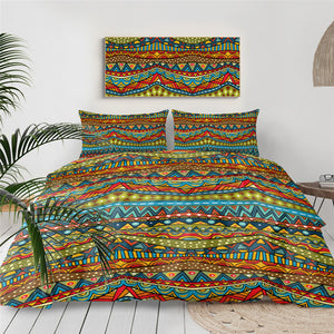 African Aztec Theme Bedding Set - Beddingify