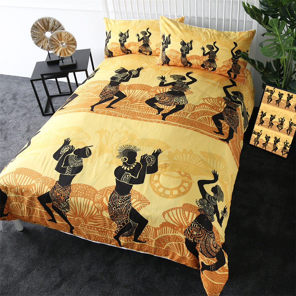 African Dance Bedding Set - Beddingify