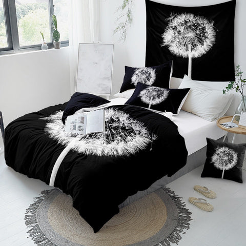 Image of Dandelion Bedding Set Queen - Beddingify