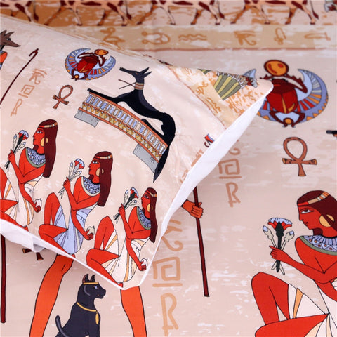 Image of Ancient Egypt Civilization Bedding Set - Beddingify