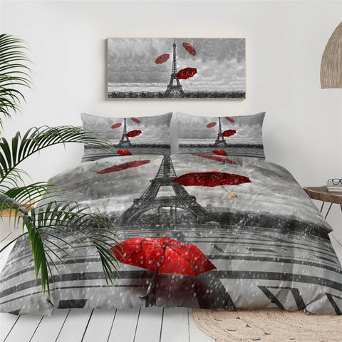 Paris Tower Bedding Set - Beddingify