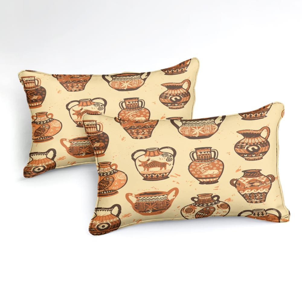 Retro African Pattern Bedding Set - Beddingify