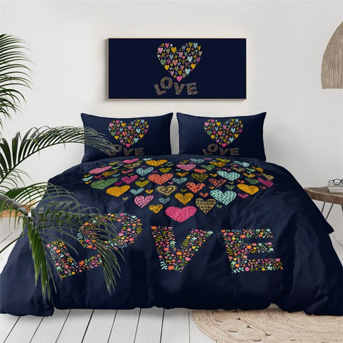 Image of Love Letters Bedding Set - Beddingify