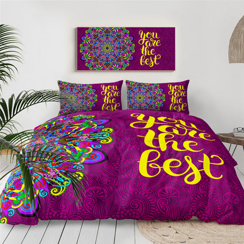 Image of You Are The Best Bedding Set - Beddingify