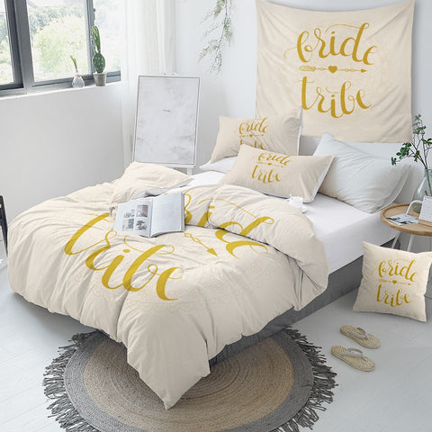 Image of Bride Tribe Bedding Set - Beddingify