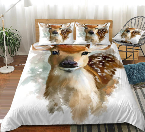 Image of Sika Deer Bedding Set - Beddingify
