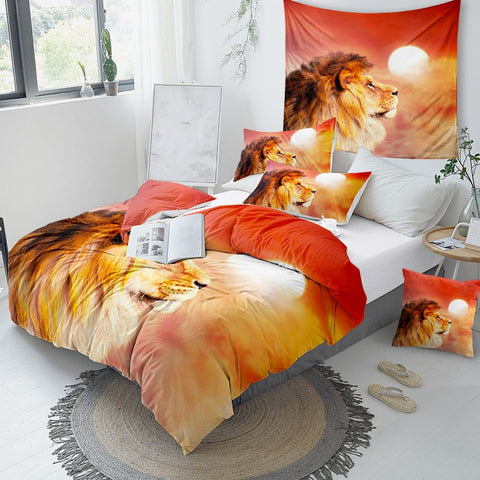 Image of King Lion Bedding Set - Beddingify