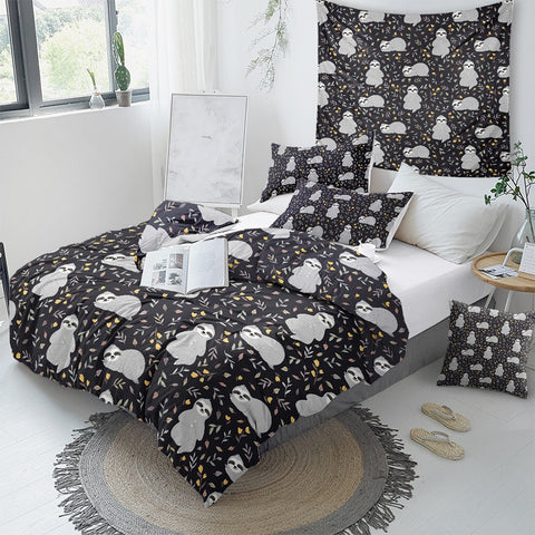 Image of Baby Sloth Bedding Set - Beddingify