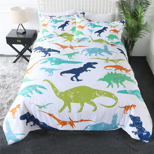Setgosaurus Dinosaurs Bedding Set - Beddingify