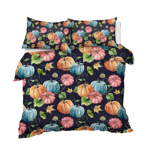 Image of Halloween Pumpkin Bedding Set - Beddingify