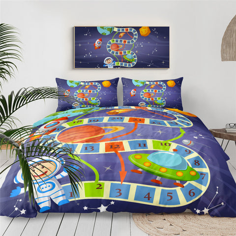 Image of Board Game Kids Bedding Set - Beddingify