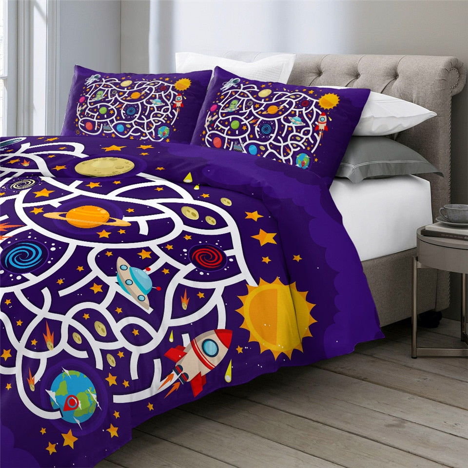 Board Game Kids Bedding Set - Beddingify