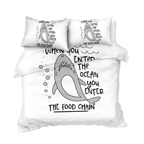 Image of Kids Shark Bedding Set - Beddingify