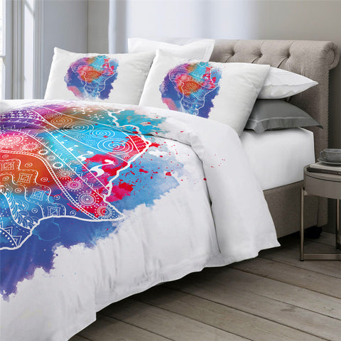 Image of African Continent Bedding Set - Beddingify