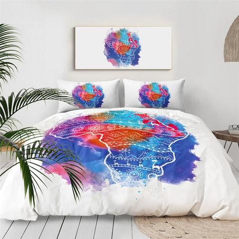 African Continent Bedding Set - Beddingify