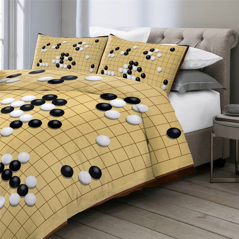 Image of Chinese Game Bedding Set - Beddingify
