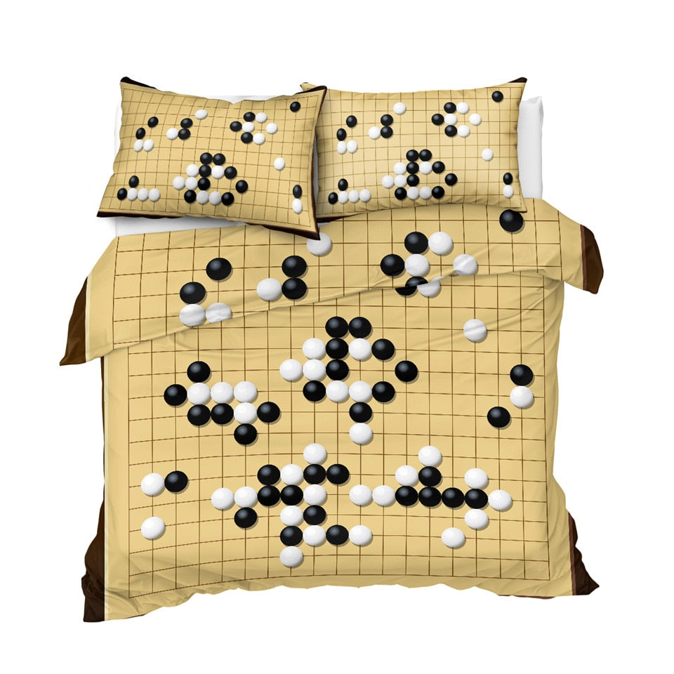 Chinese Game Bedding Set - Beddingify