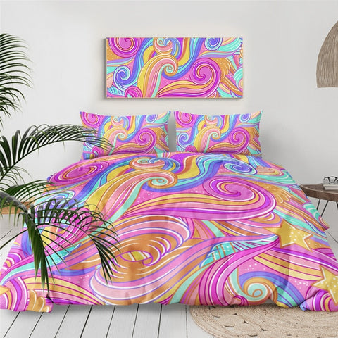 Image of Dreamy Clouds Bedding Set - Beddingify