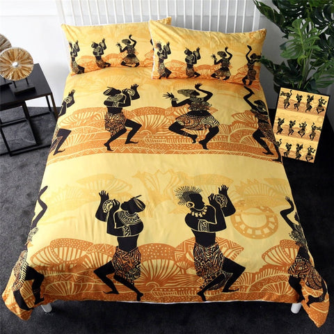 Image of African Dance Bedding Set - Beddingify