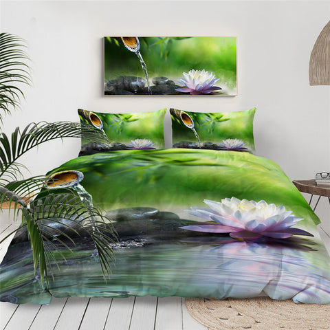 Image of Zen Garden Bedding Set - Beddingify