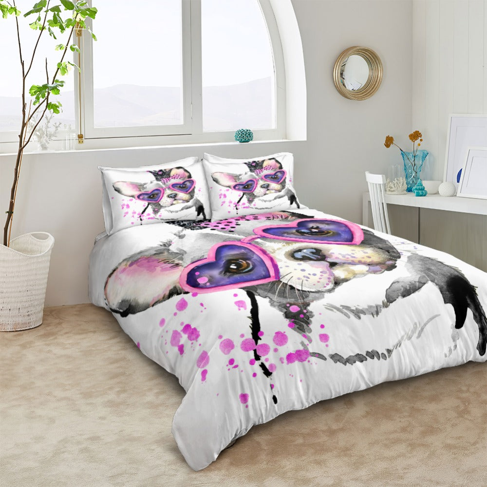 Cute Dog Bedding Set - Beddingify