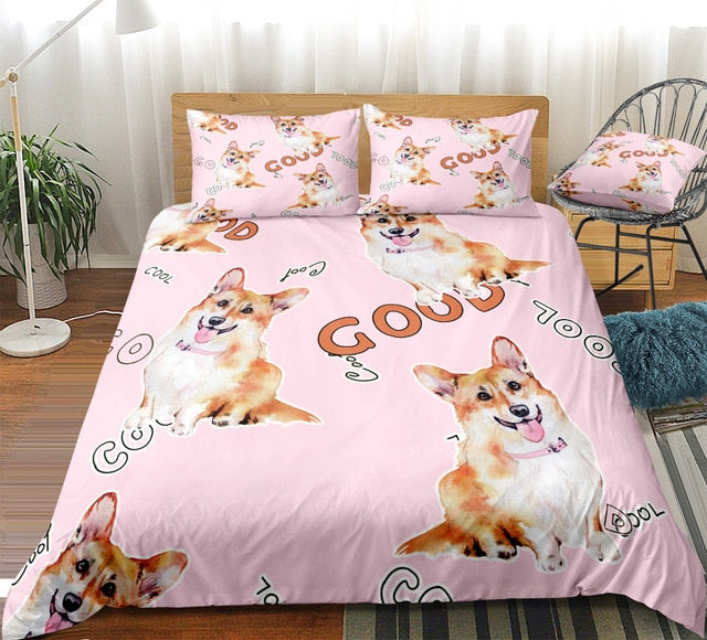 Good Dogs Bedding Set - Beddingify