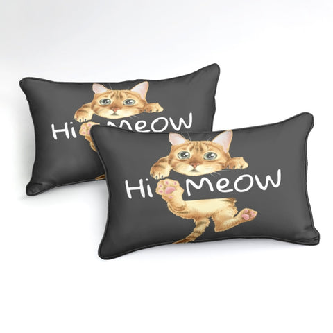 Meow Cat Bedding Set - Beddingify