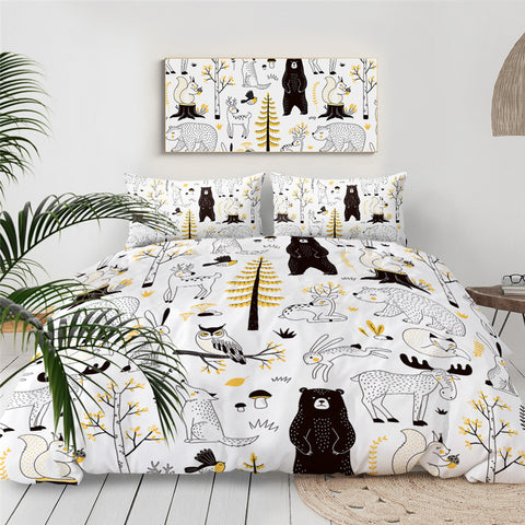 Image of Cute Animal Bedding Set - Beddingify